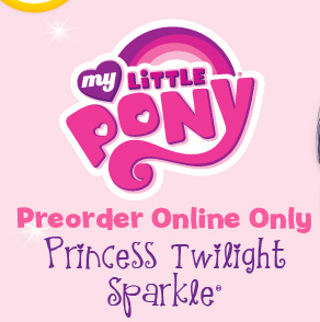 MY LITTLE PONY ® - Preorder Online Only - Princess Twilight Sparkle®